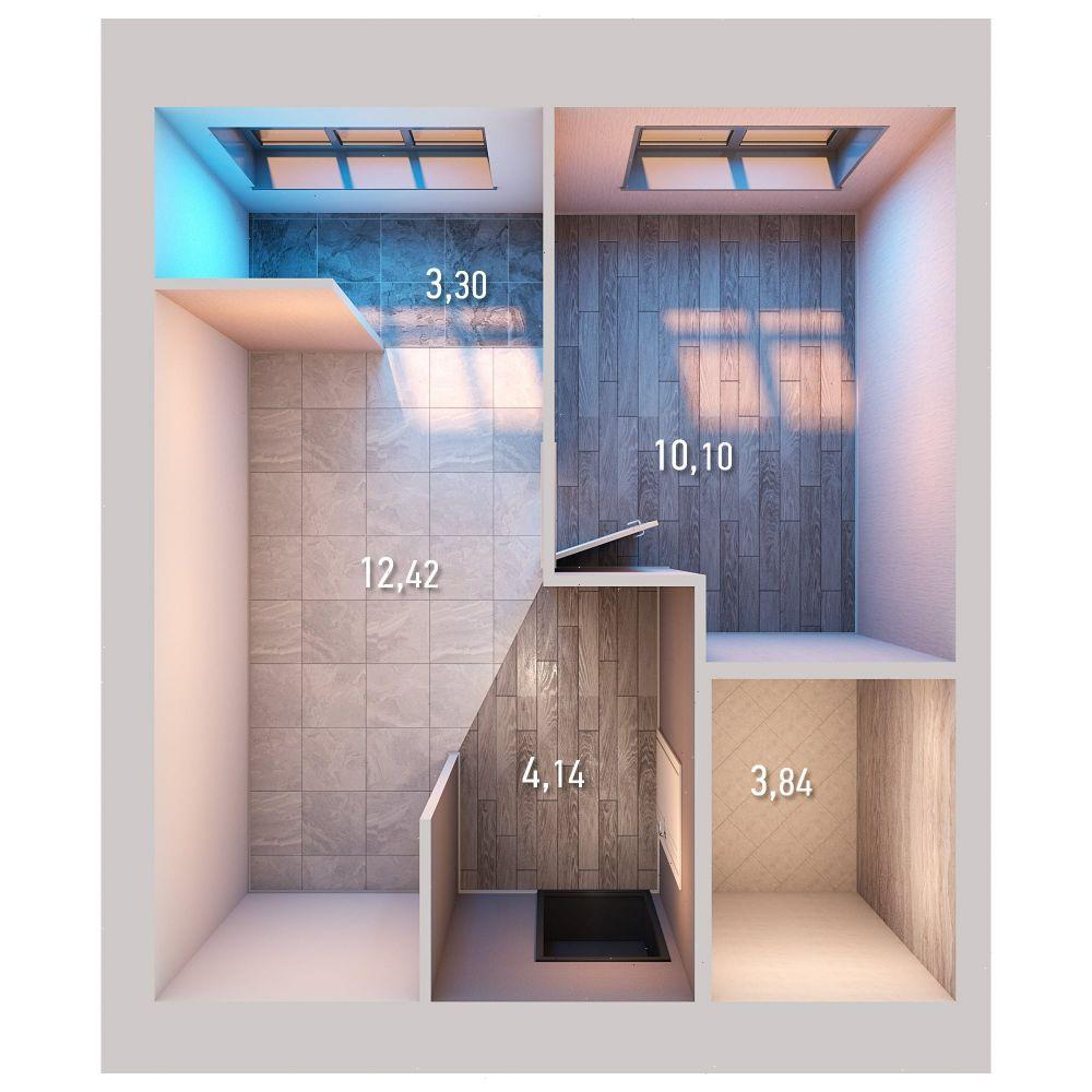 Продажа 1-к квартиры ул. Умырзая, д. 9