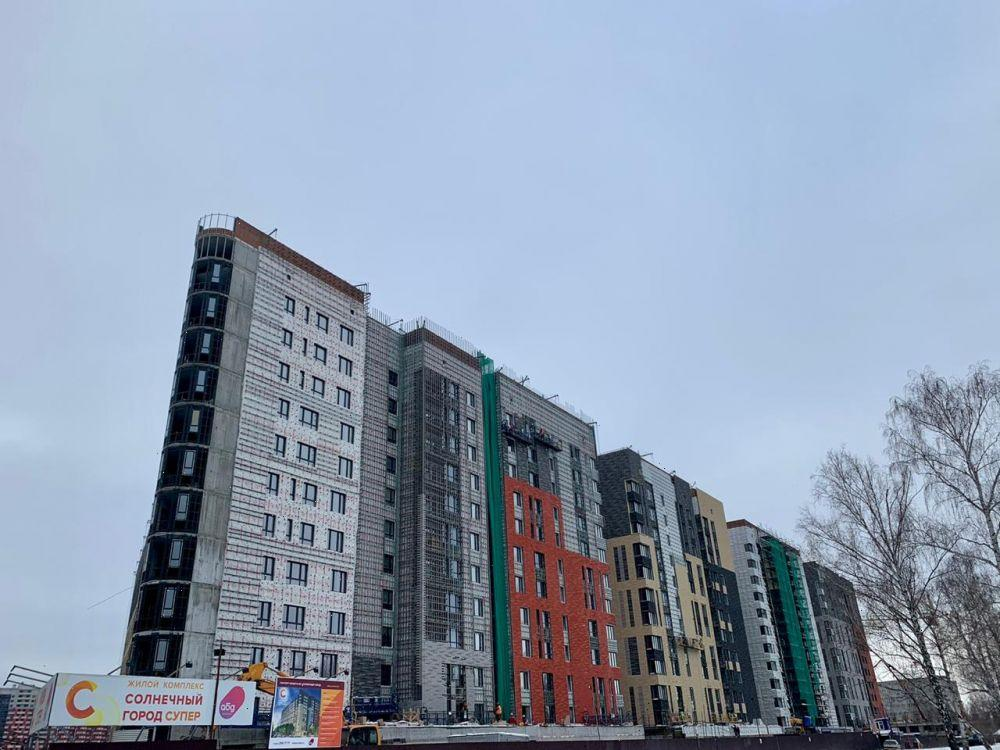 Продажа 1-к квартиры ул. Баки Урманче, д. 15-16, корп. 3