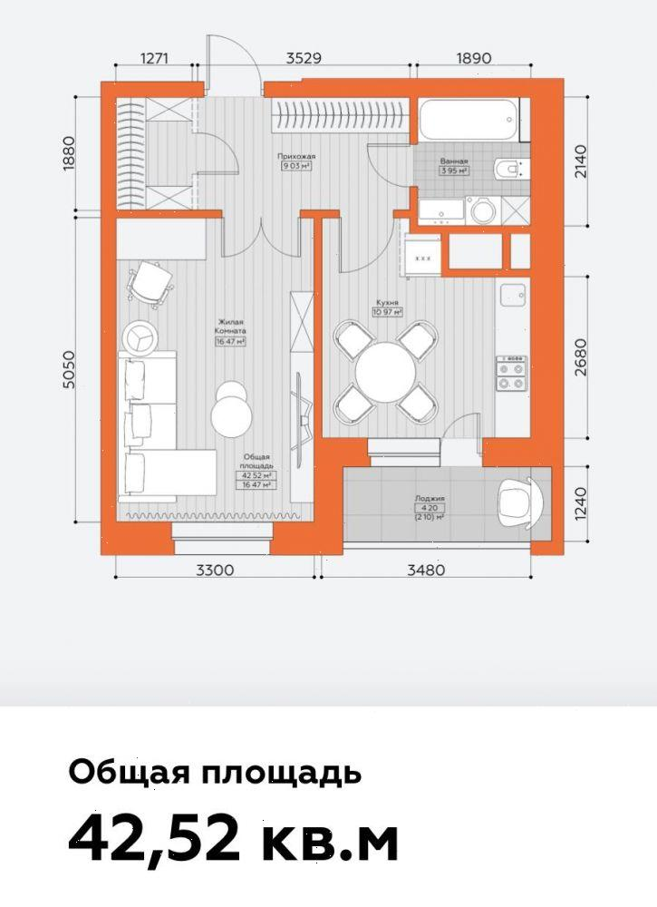 Продажа 1-к квартиры Татарстан, Казань, Аделя Кутуя, корп.А