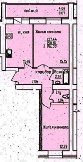Продажа 1-к квартиры ул. Дубравная, д. 2Д
