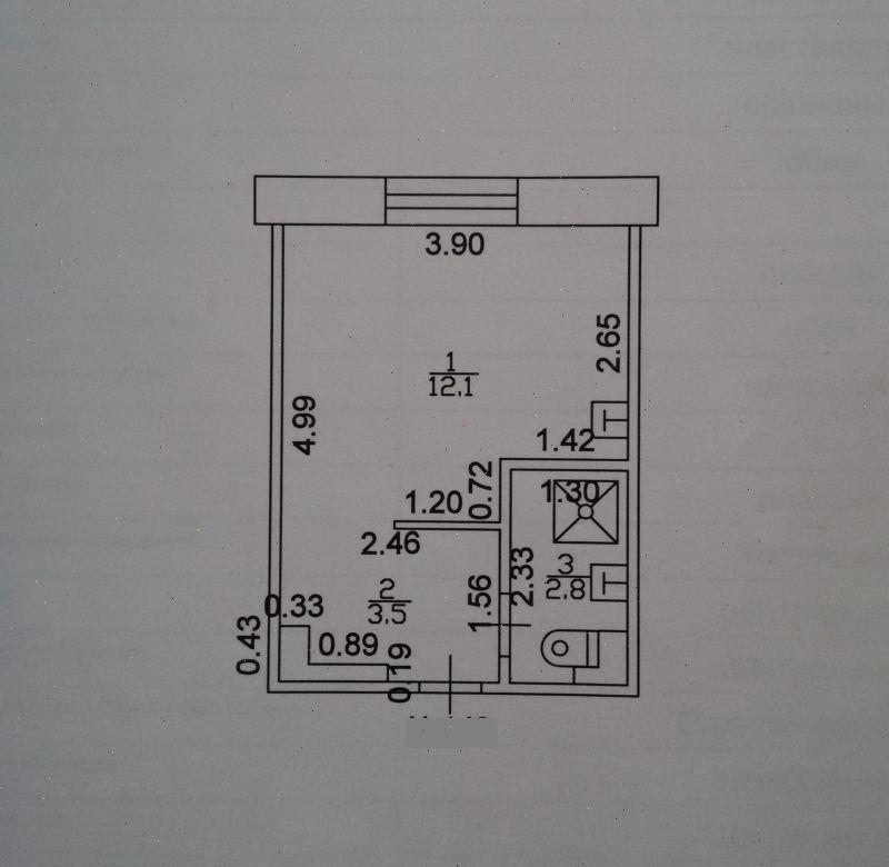Продажа 1-к квартиры Короленко 109