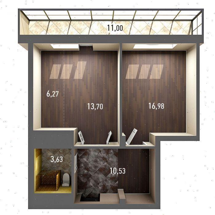 Продажа 2-к квартиры ул. Бари Галеева, д. 8А, корп. 2